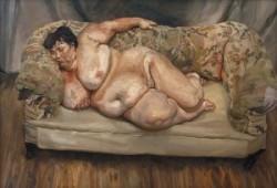 Lucian Freud. Benefits supervisor Sleeping.1995